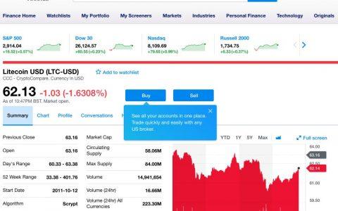 """雅虎财经iOS应用开放买卖数字货币,揭秘雅虎的""""交易所计划"""""""