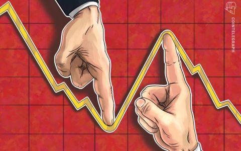 加密货币市场出现小幅下跌,以太坊跌破300美元支撑位